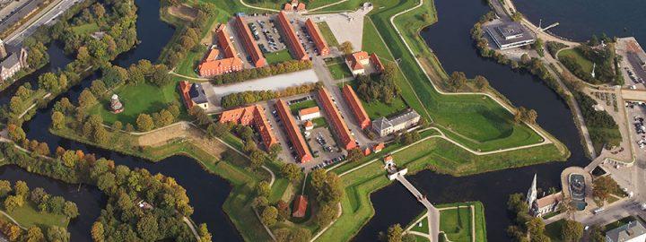 Sinilillejooks Kopenhaagenis