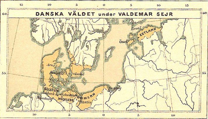 Taani valdused Valdemar II ajal. Foto: Tallinna Linnamuuseum