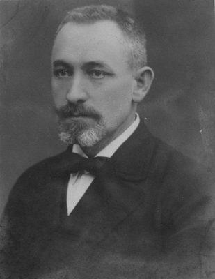 Jens Christian Johansen 1920. aastatel. Foto: Rahvusarhiiv