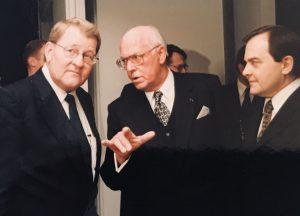 Taani saatkonna avamine 1999. Foto: Taani saatkond Tallinnas
