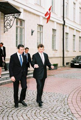 Rasmussen ja Ansip 2008. Foto: välisministeeriumi arhiiv